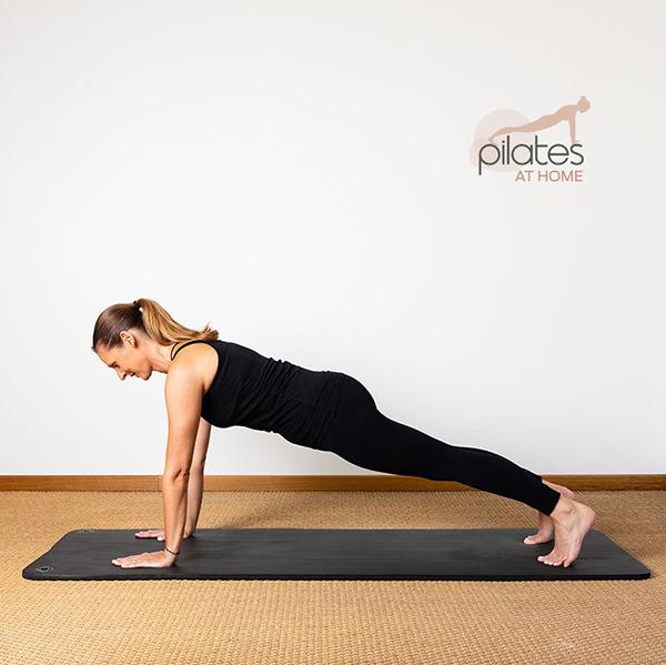 Leg pull prone - gainage en Pilates